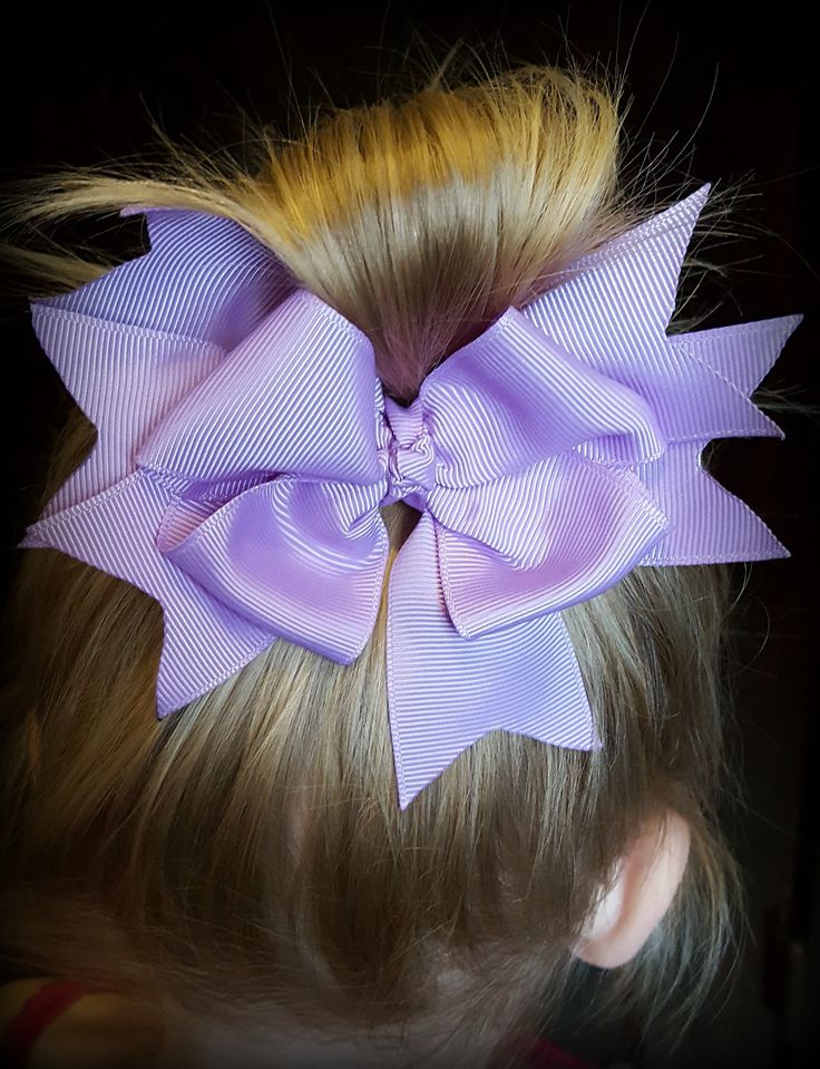 Lavender Boutique Hair Bow, Purple Hair Bows, Big Hair Bows, Hair Bow Clips, Girls Hair Bows, Toddler Hair Bows, Spring Hair Bows, Baby by BethysBowsAndMore on Etsy