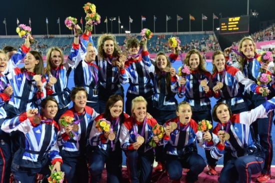 Women's Hockey Team win bronze for #TeamGB! #Olympics