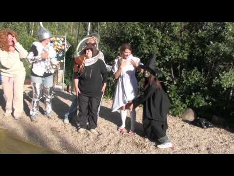 Wizard of Oz LDS Girl's Camp Skit 2010 - YouTube.  So good!!