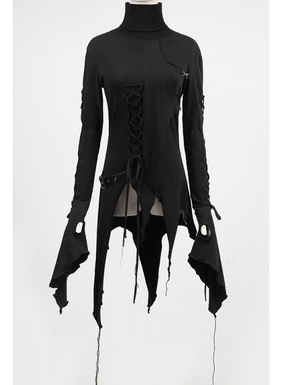 """Wearing this, I think you'd just have to go around saying hardly anything, and when people ask, you simply reply, """"I am the night."""""""