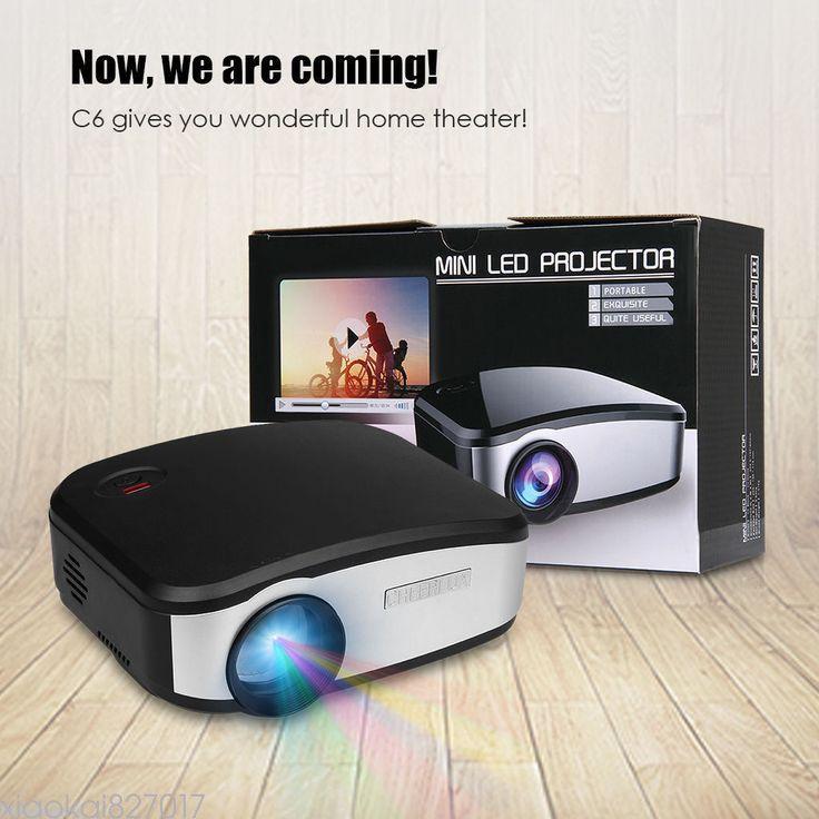Nice Amazing Cheerlux C6 1200Lumen Mini LED LCD Projector HDMI VGA USB TV AV Home Theater HOT 2017-2018 Check more at http://24shopping.gq/fashion/amazing-cheerlux-c6-1200lumen-mini-led-lcd-projector-hdmi-vga-usb-tv-av-home-theater-hot-2017-2018/
