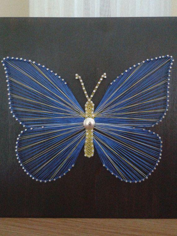 Pin En Crafts String Art