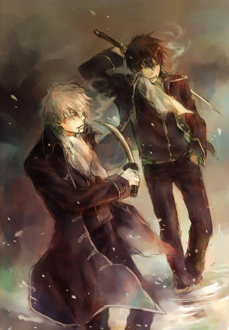 Sakata Gintoki | Hijikata Toushirou | Gintama | ♤ #anime ♤