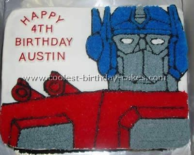 rescue bots birthday cake | Coolest Transformers Cake Photos and How-To Tips