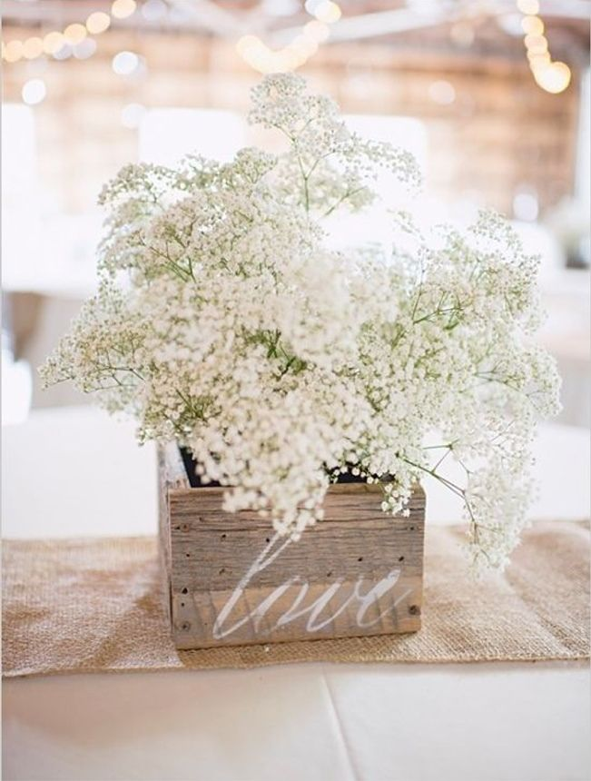 Simple DIY Wedding Centerpiece Ideas 7
