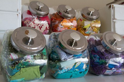 NSM How to Organize Fabric Scraps | The Sewing Loft | Bloglovin'