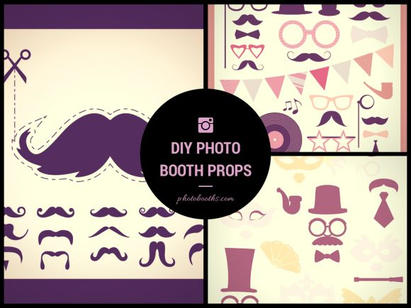 Diy Wedding Photo Booth Props Free Template Downloads