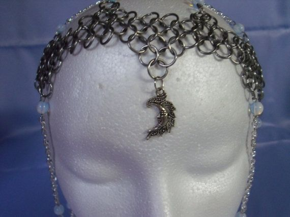 Goddess of the Moon by MagyckalDreams on Etsy, $75.00