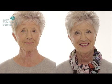 MakeUp Tutorial for Older Women: Define Your Eyes and Lips by Tricia Cusden of Look Fabulous Forever - YouTube