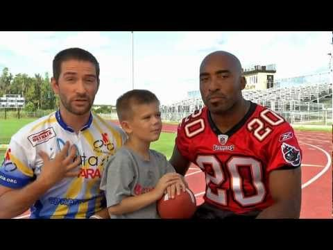 Ronde Barber and Kyle Bryant talk about Friedreich's Ataxia
