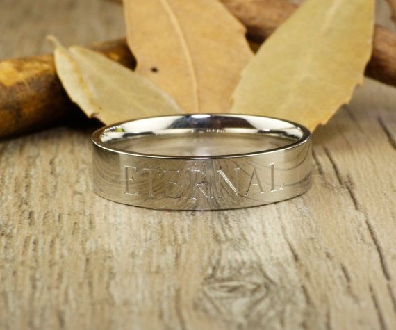 Personalize PROMISE RING , Silver Titanium Rings #jewelry #ring @EtsyMktgTool http://etsy.me/2bPNFMy