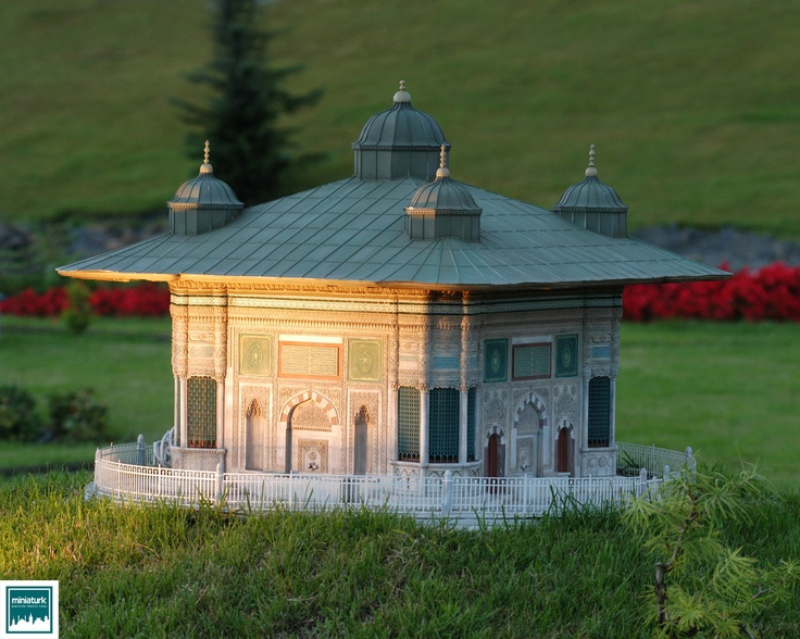 """The Fountain of Ottoman Sultan Ahmed the Third""; Miniaturk,Istanbul/Turkey"