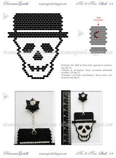 TUTORIAL  Mr. & Mrs. Skull - Ricamar Gioielli