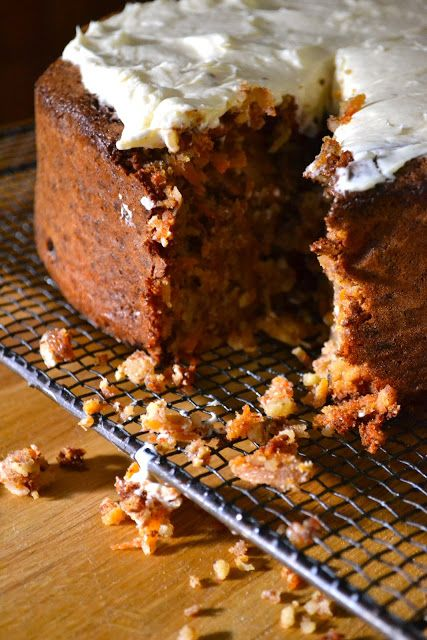 Hide and go Cook: Flourless Carrot Cake