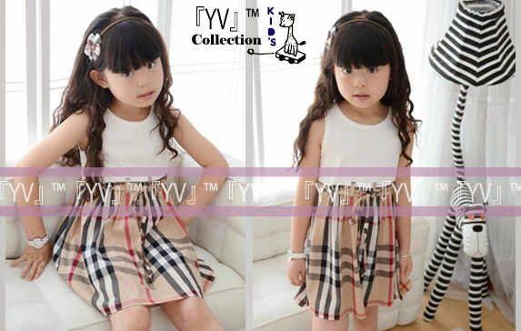 Dress Anak dengan motif garis garis yang lucu dan unik menjadi pusat perhatian diamanapun dengan Baju anak perempuan YVKids
