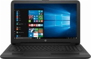 "HP - 15.6"" Touch-Screen Laptop - Intel Core i5 - 8GB Memory - 1TB Hard Drive - HP finish in jet black - Front Zoom"