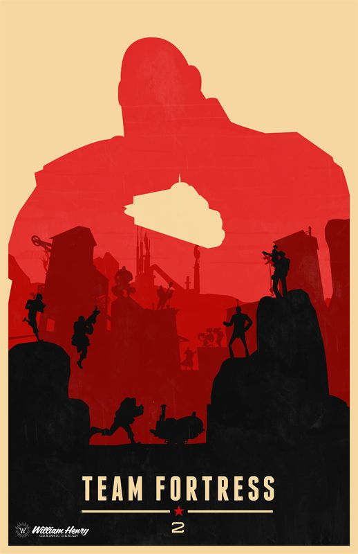 Team Fortress 2 The Heavy poster by billpyle on DeviantArt