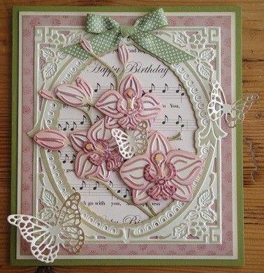 creatable orchidee 3d kaarten - Google zoeken