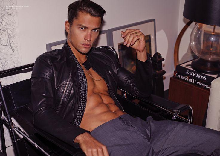 Lucas Garcez by Photographer Joseph Lally 160511 01   Male Celeb News