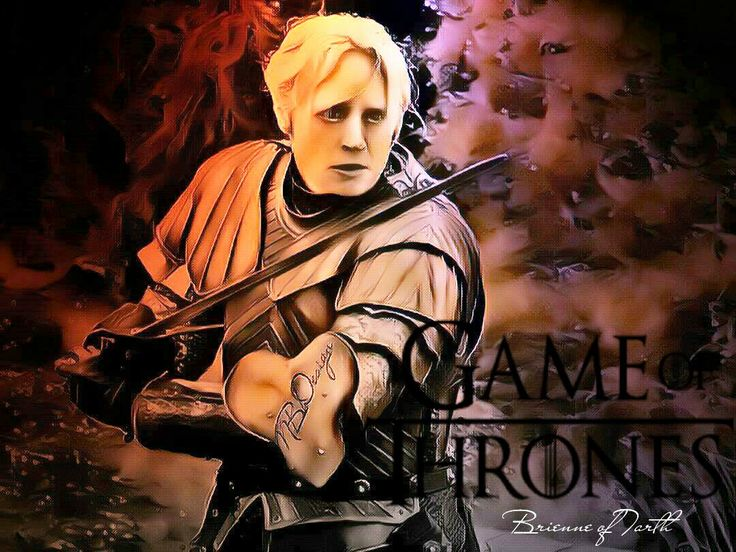 """Brienne of Tarth """"Game of Thrones"""""""