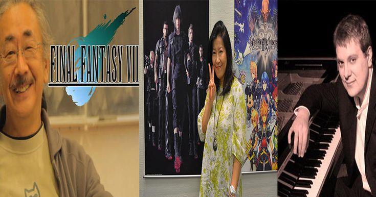 Les compositeurs de musiques de jeux vidéo emblématiques : Nobuo Uematsu, Yoko Shimomura, Jeremy Soule...