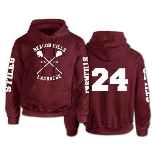 Beacon Hills Lacrosse Logo Wolf Men Hooded Hoodie TeenWolf Stiles Stilinski Teen Sweatshirt Men Pullover Front And Back Printing-in Hoodies & Sweatshirts from Men's Clothing & Accessories on Aliexpress.com | Alibaba Group