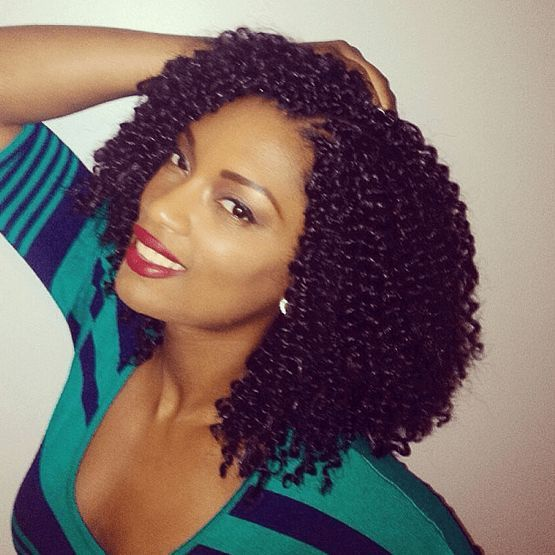 Crochet Freetress Curly Ombre Hair | Crochet Braids with Human Hair - How To Do, Styles, Care