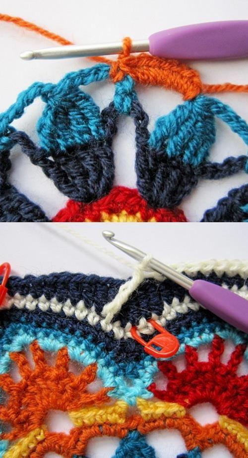 Crochet Patterns: Crochet Pattern Of Amazing Blanket - Persian Tile