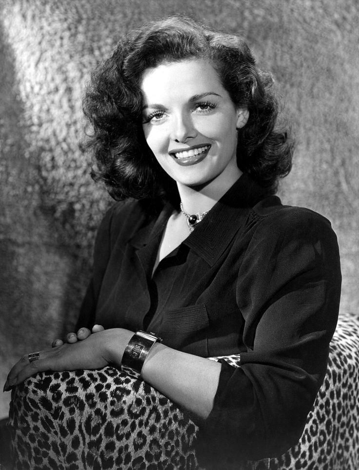Ernestine Jane Geraldine Russell ~ generally known as Jane Russell, was an American film actress, and was one of Hollywood's leading sex symbols in the 1940s and 1950s.