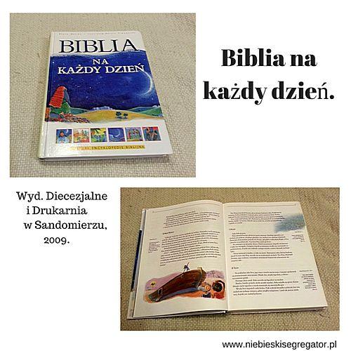Niebieski Segregator - Biblia na każdy dzień