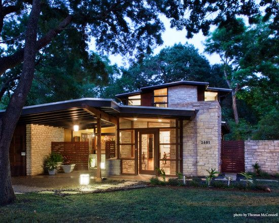 Mid Century Modern Homes Exterior