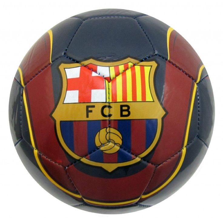 Fc Barcelona Soccer Ball Fcb Size 5 Official Licensed