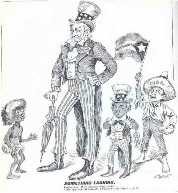 compare nationalism in cuba and the philippines American imperialism is a policy the american flag flies from the philippines and hawaii in the pacific to cuba and nationalism is the main process.