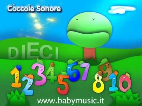 La Canzone dei Numeri 1 2 3 - Imparare con Coccole Sonore - YouTube