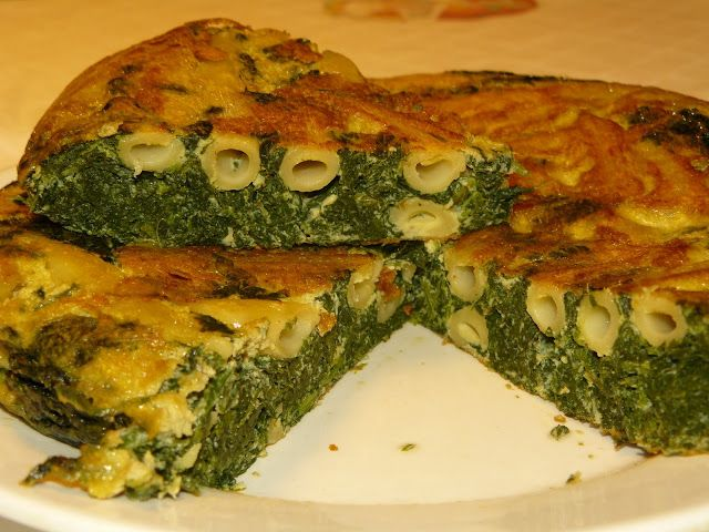 Sud Italia in Cucina: Frittata di Pasta