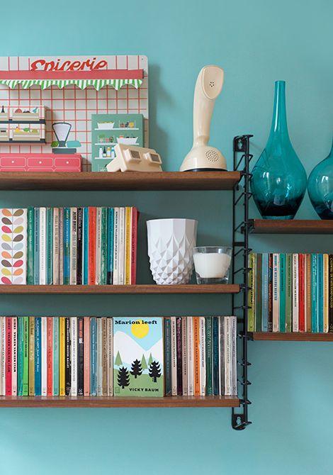 De kleuren uit ons appartement win heeeel veel Levis Ambiance verf! / www.woonblog.be