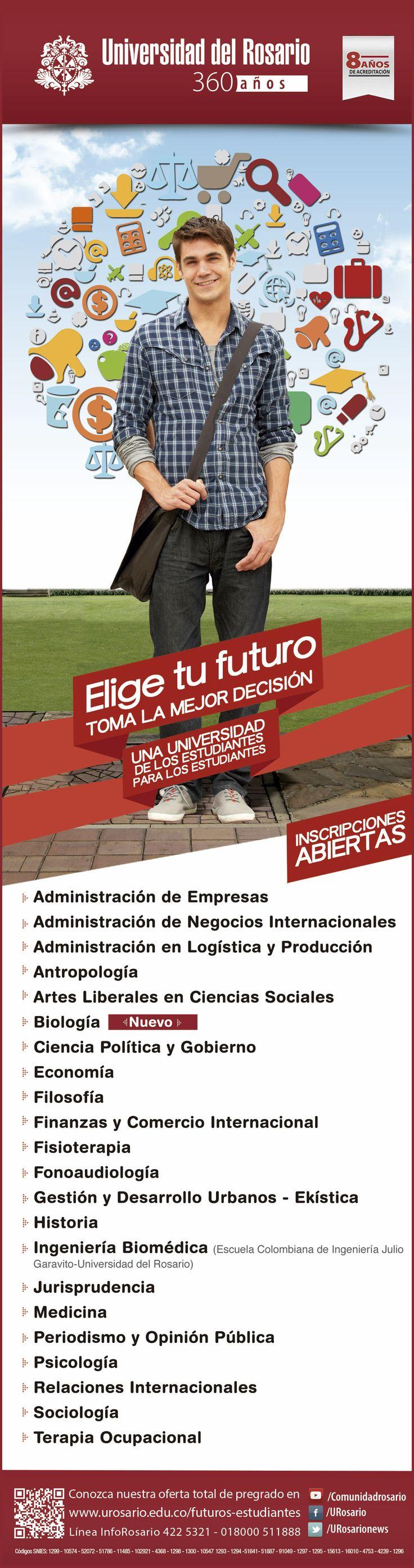 Aviso pregrado Universidad Del Rosario medio El Tiempo