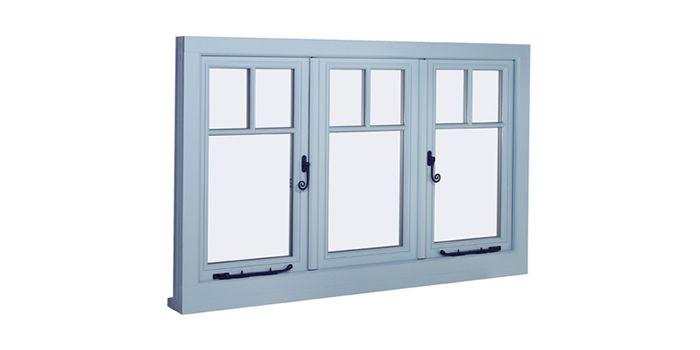 Cottage style casement windows - New Double Glazed Wooden Windows - Timber Windows