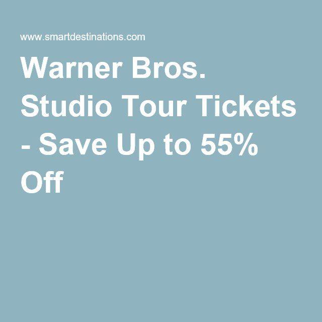 Warner Bros. Studio Tour Tickets - Save Up to 55% Off