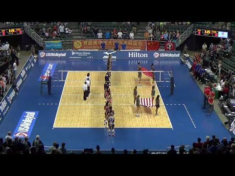 2015-06-06 - USA Volleyball Cup - Match 2 - USA - China [with Audio Comm...