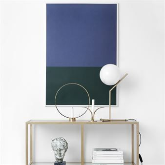 Colors poster 70x100 cm - no.2 (blå-grön) - Studio Esinam