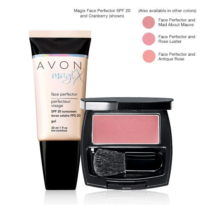 "MagiX Face Perfector A revolutionary colorless gel-to-powder formula provides invisible coverage for a naturally flawless finish and keeps skin looking naturally matte for 7 full hours. The ""magic"" behind magiX is Avon's patent-pending High Definition Finish Complex, an exclusive complex that works to counteract shine and visibly smooth the look of fine lines and pores! The Face Perfector can be used as a primer, but also can be used on its own to blur away imperfections."