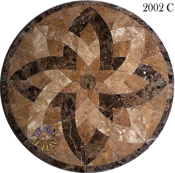 Marble Floor Mosaics : Best images about floor medallions on pinterest