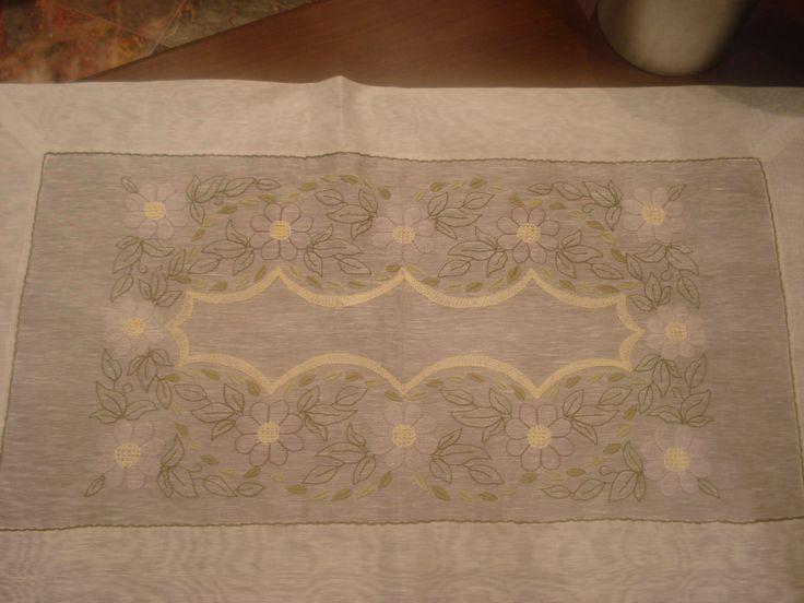gölge işi - handmade - embroidery - el nakısı