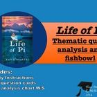 This Life of Pi analysis activity includes both independent and group activities.  Students begin by choosing a card that contains both a quote fro...