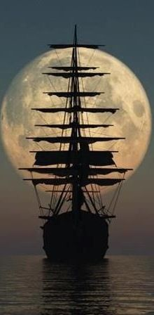 Brown ~ mighty sailing ship - this is a photo - I would love to paint it.