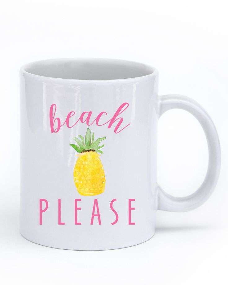 Beach Please Mug – charm & gumption