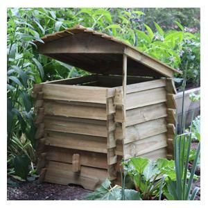 400L Beehive Composter £112.95 - The Wooden Beehive Style Composter is an attractive alternative to traditional compost bins, but still provides an efficient composting solution. Made from FSC wood in a natural finish which can easily be overpainted...