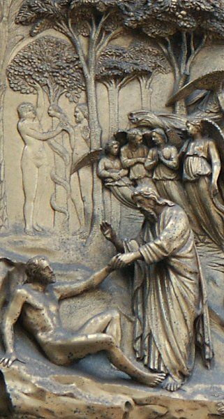 Gates of Paradise by Ghiberti, Florence Baptistry | chapter 53