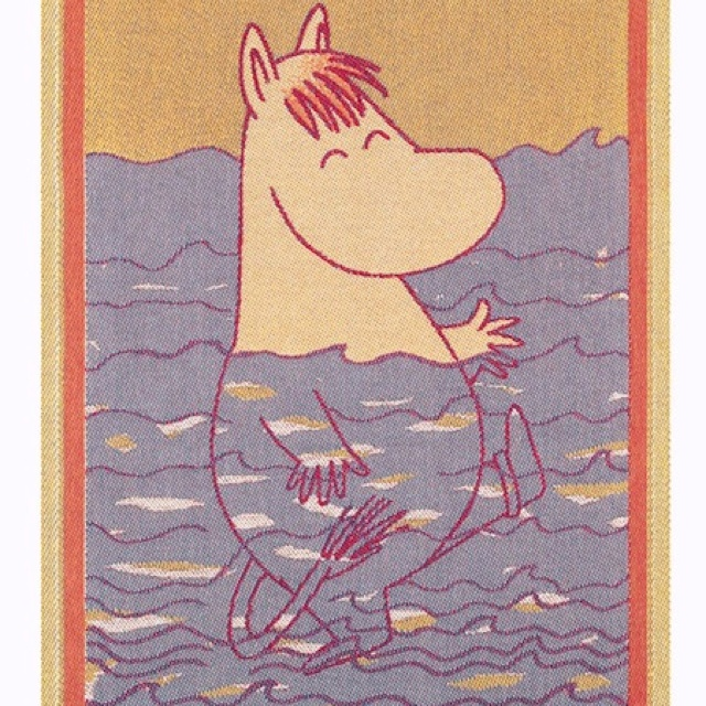 Moomin - beloved Finnish children's book character by Tove Jansson